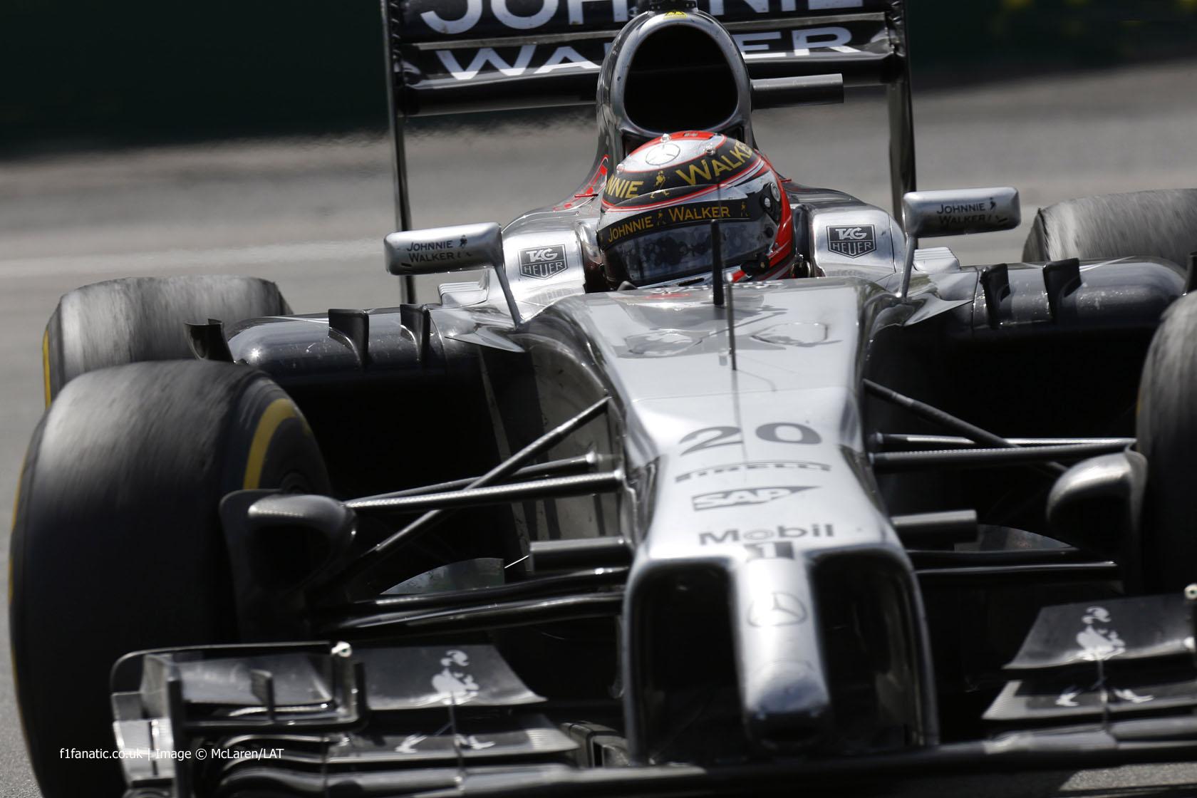 Kevin Magnussen, McLaren, Circuit Gilles Villeneuve, 2014