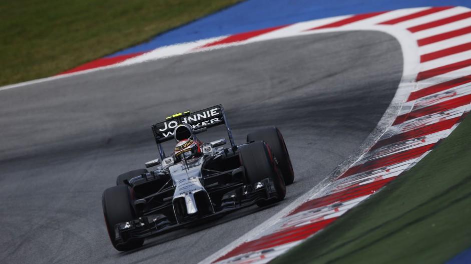 Kevin Magnussen, McLaren, Red Bull Ring, 2014