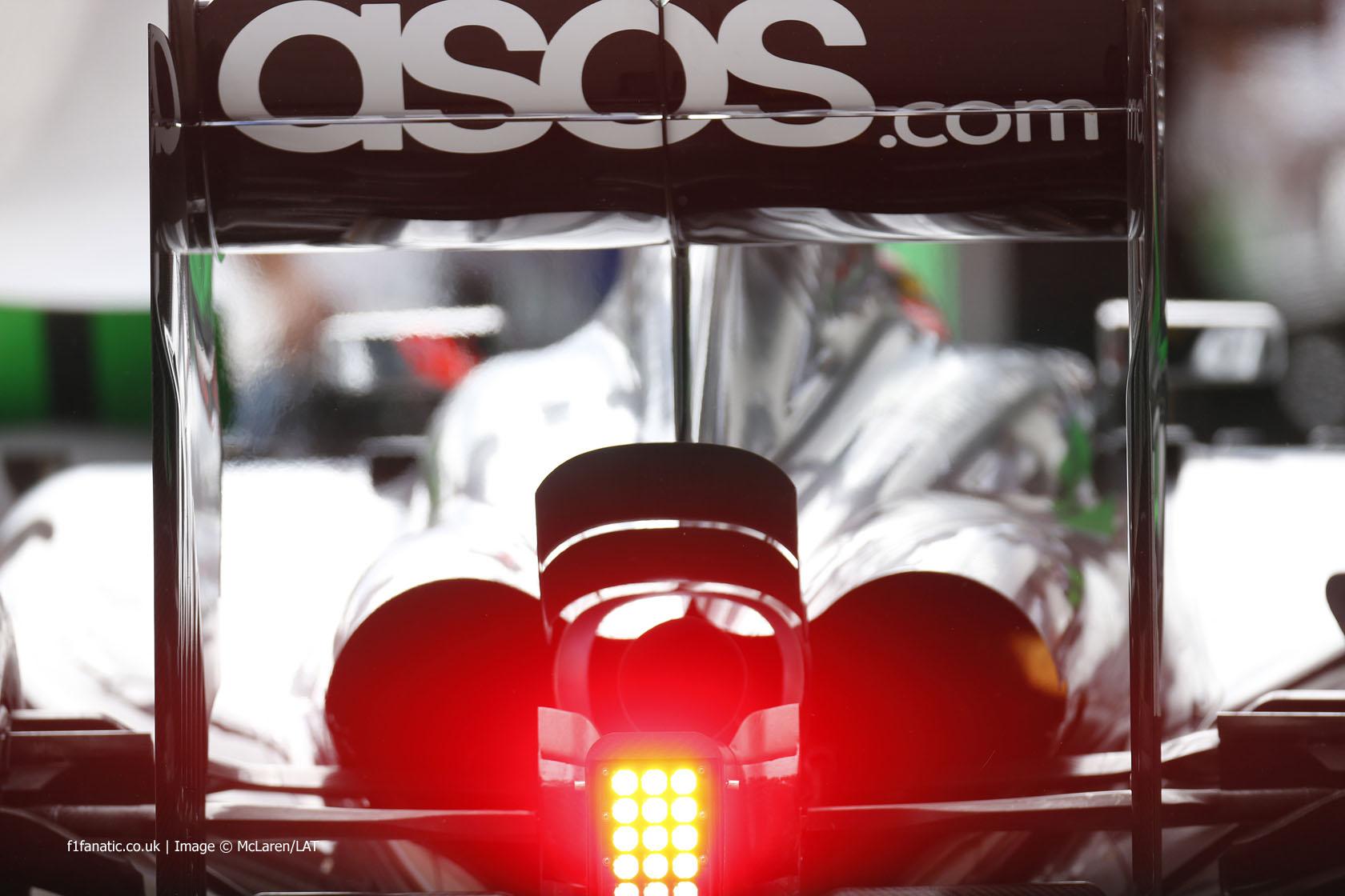 McLaren, Red Bull Ring, 2014