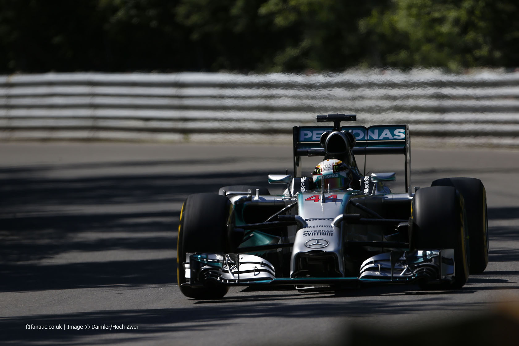 Lewis Hamilton, Mercedes, Circuit Gilles Villeneuve, 2014