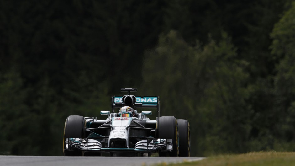 2014 Austrian Grand Prix tyre strategies and pit stops