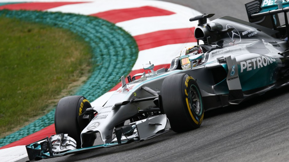 Hamilton leads another Mercedes one-two in Austria