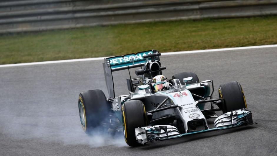 Lewis Hamilton, Mercedes, Red Bull Ring, 2014