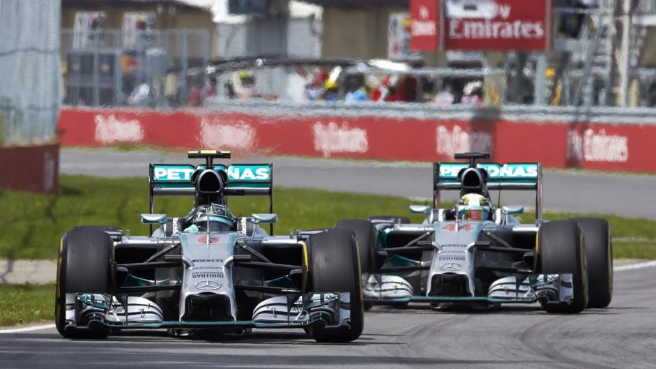 Nico Rosberg, Mercedes, Circuit Gilles Villeneuve, 2014