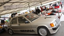 Ayrton Senna Mercedes 190E, Goodwood Festival of Speed, 2014