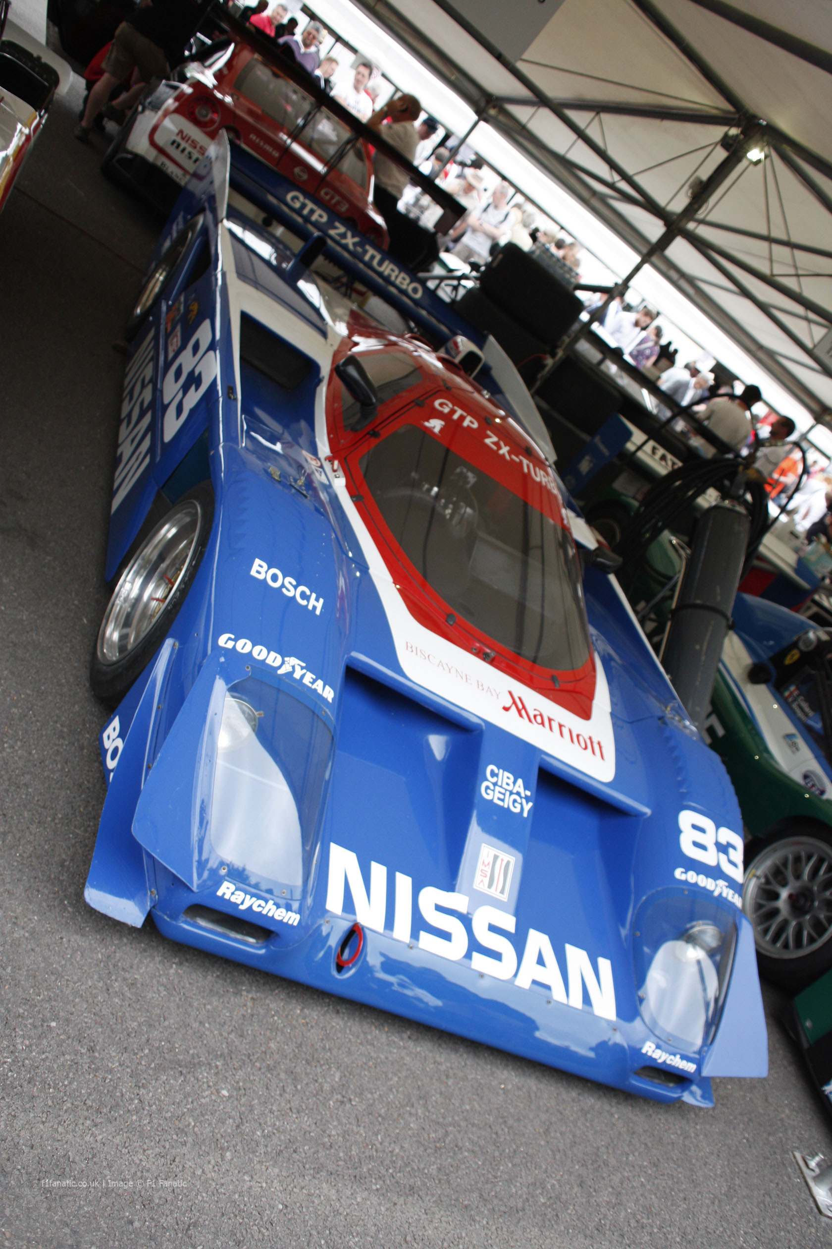 Nissan GTP ZX Turbo, Goodwood Festival of Speed, 2014