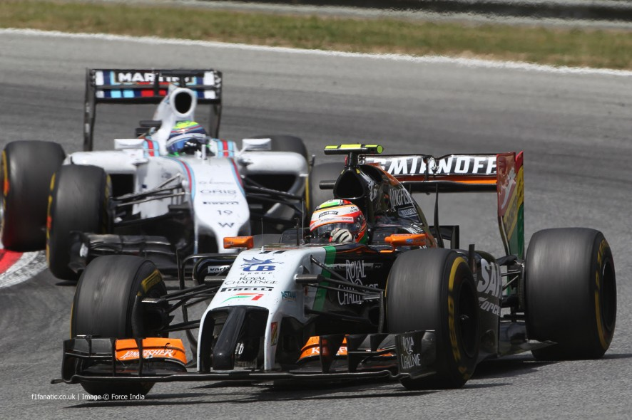 Sergio Perez, Force India, Red Bull Ring, 2014