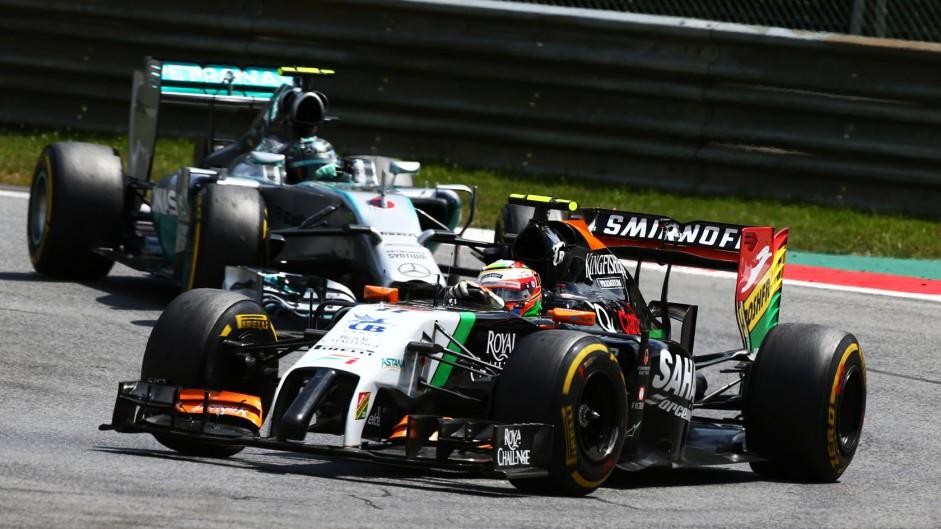2014 Austrian Grand Prix lap times and fastest laps