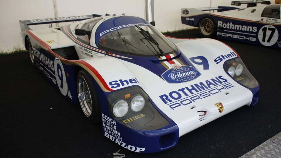 Porsche 956, Goodwood Festival of Speed, 2014