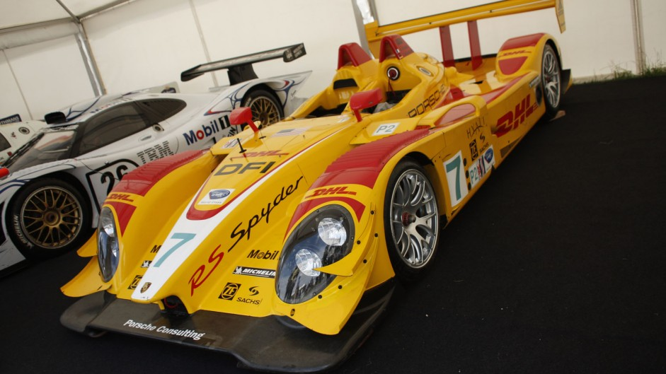 Porsche RS Spyder, Goodwood Festival of Speed, 2014