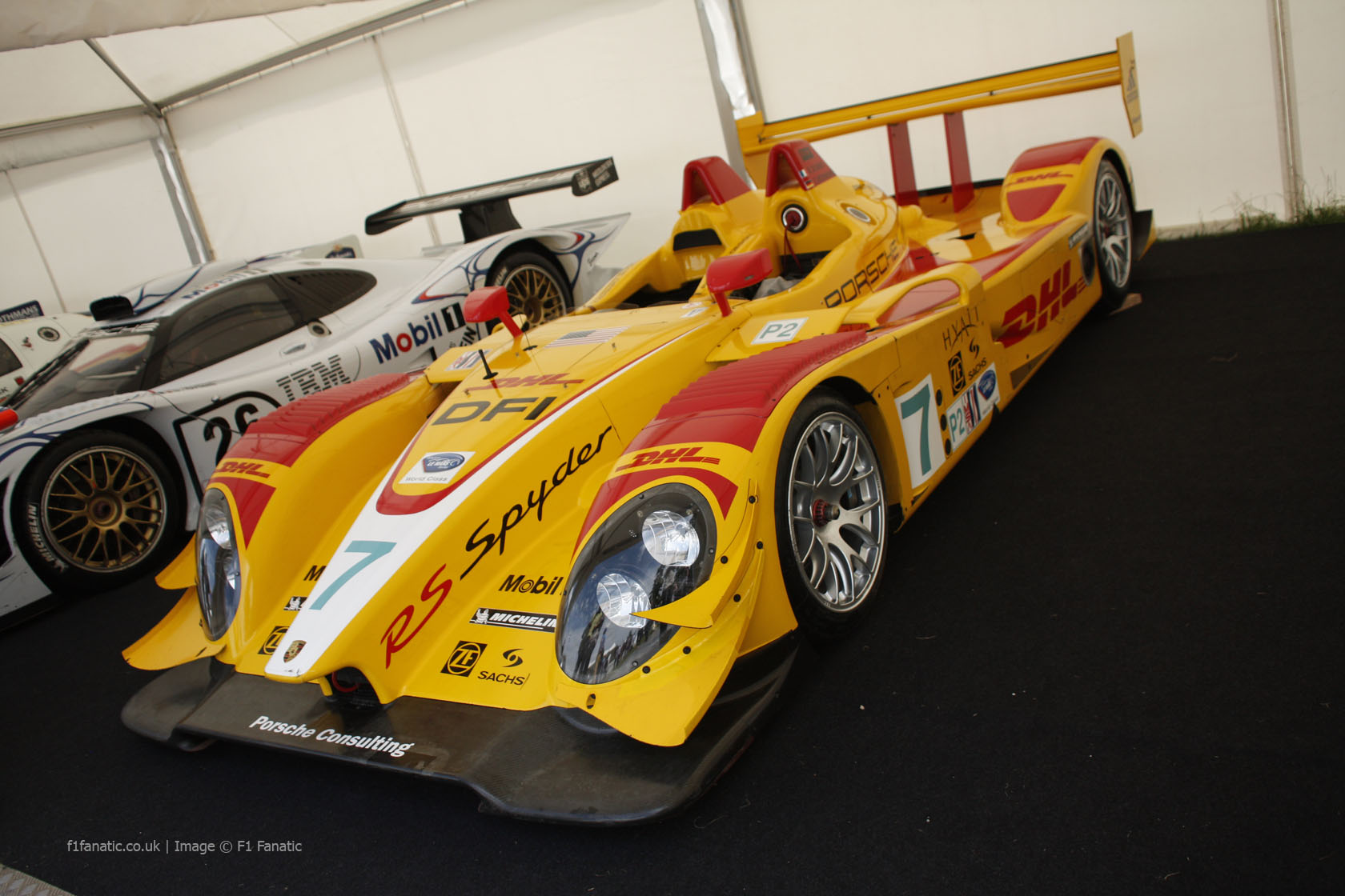 Porsche RS Spyder, Goodwood Festival of Speed, 2014