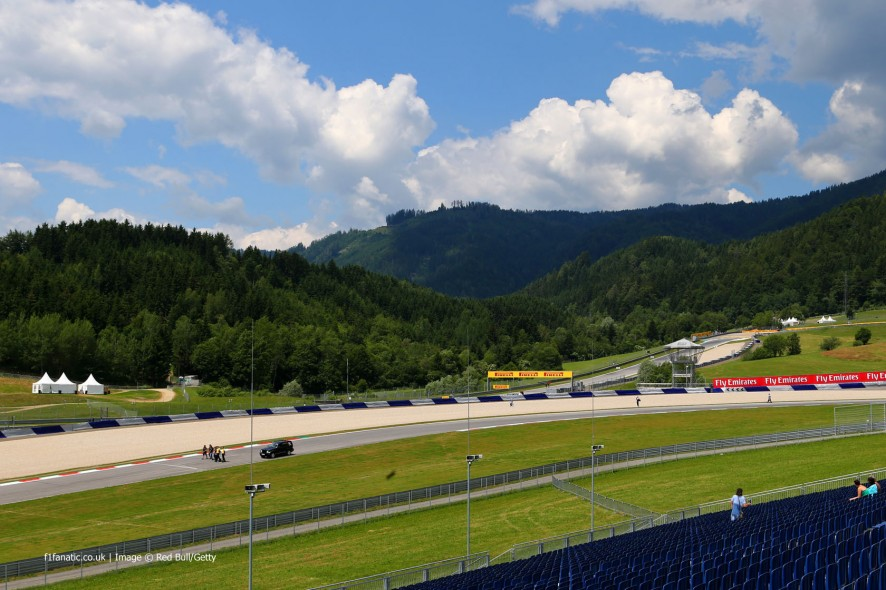 Turn five, Red Bull Ring, 2014