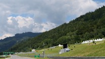 Straight to turn three, Red Bull Ring, 2014