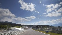 Start/finish straight, Red Bull Ring, 2014