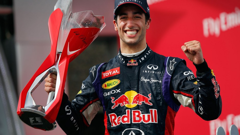 Ricciardo seizes chance to put one over Mercedes and clinch first win