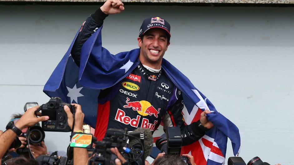First-time winner Ricciardo halts Mercedes domination