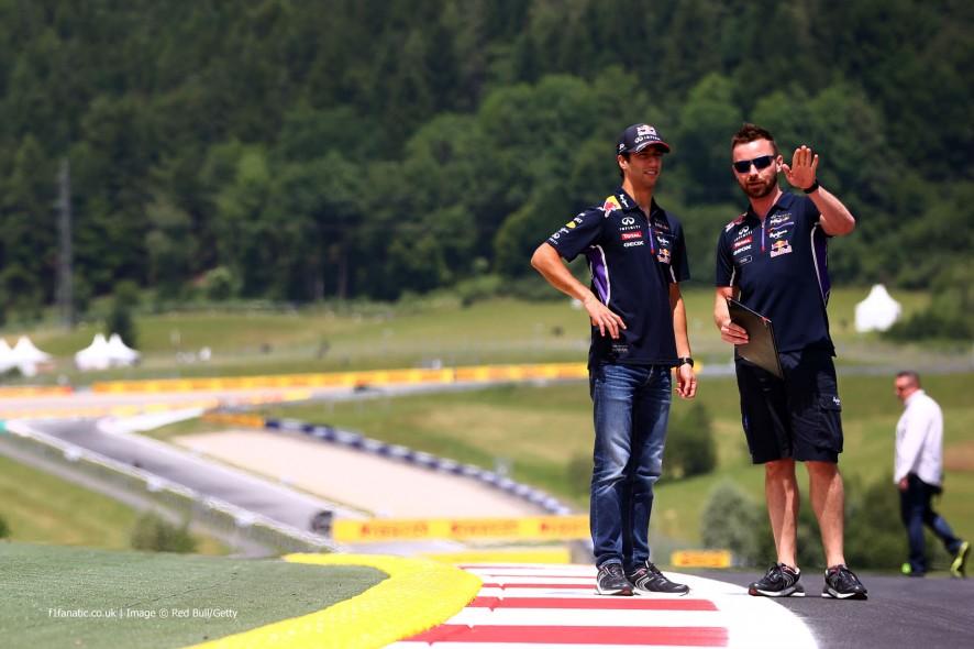 Daniel Ricciardo, Red Bull, Red Bull Ring, 2014