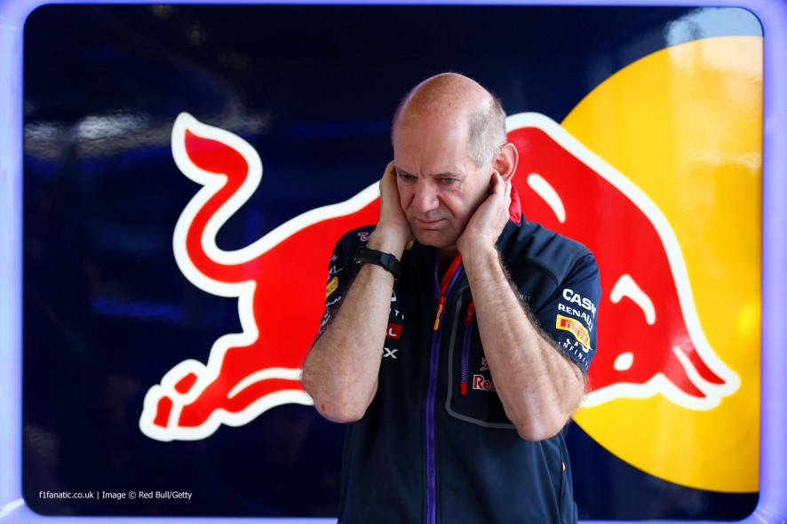 Adrian Newey, Red Bull, Red Bull Ring, 2014