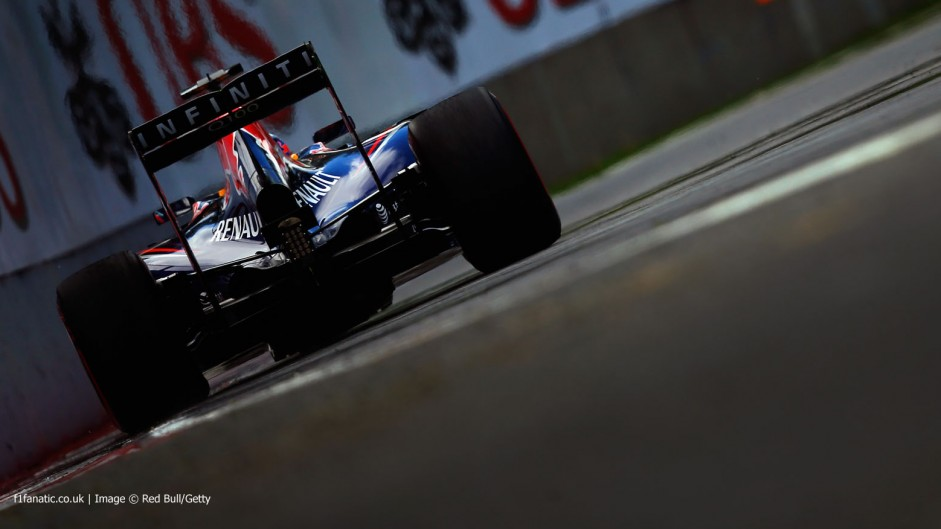 Sebastian Vettel, Red Bull, Circuit Gilles Villeneuve, 2014