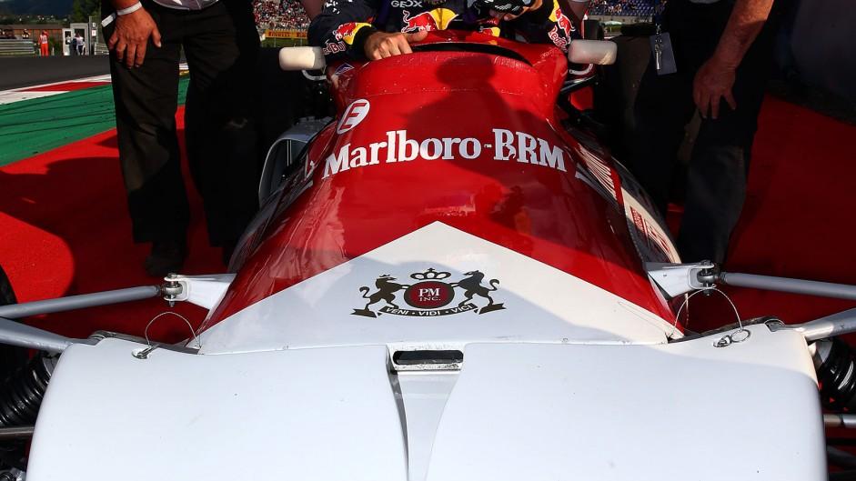 Sebastian Vettel, BRM P160B, Red Bull Ring, 2014