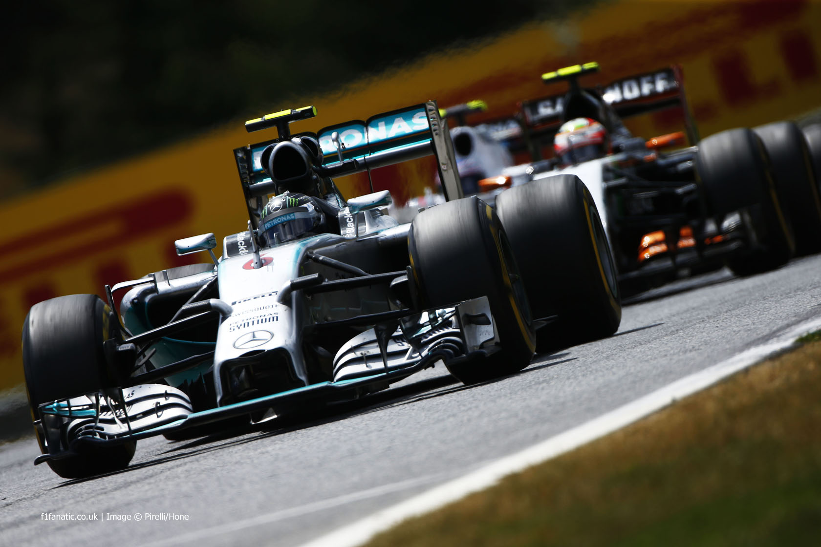 Nico Rosberg, Mercedes, Red Bull Ring, 2014
