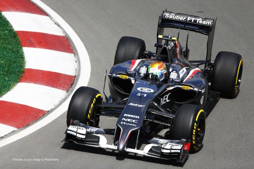Esteban Gutierrez, Sauber, Circuit Gilles Villeneuve, 2014
