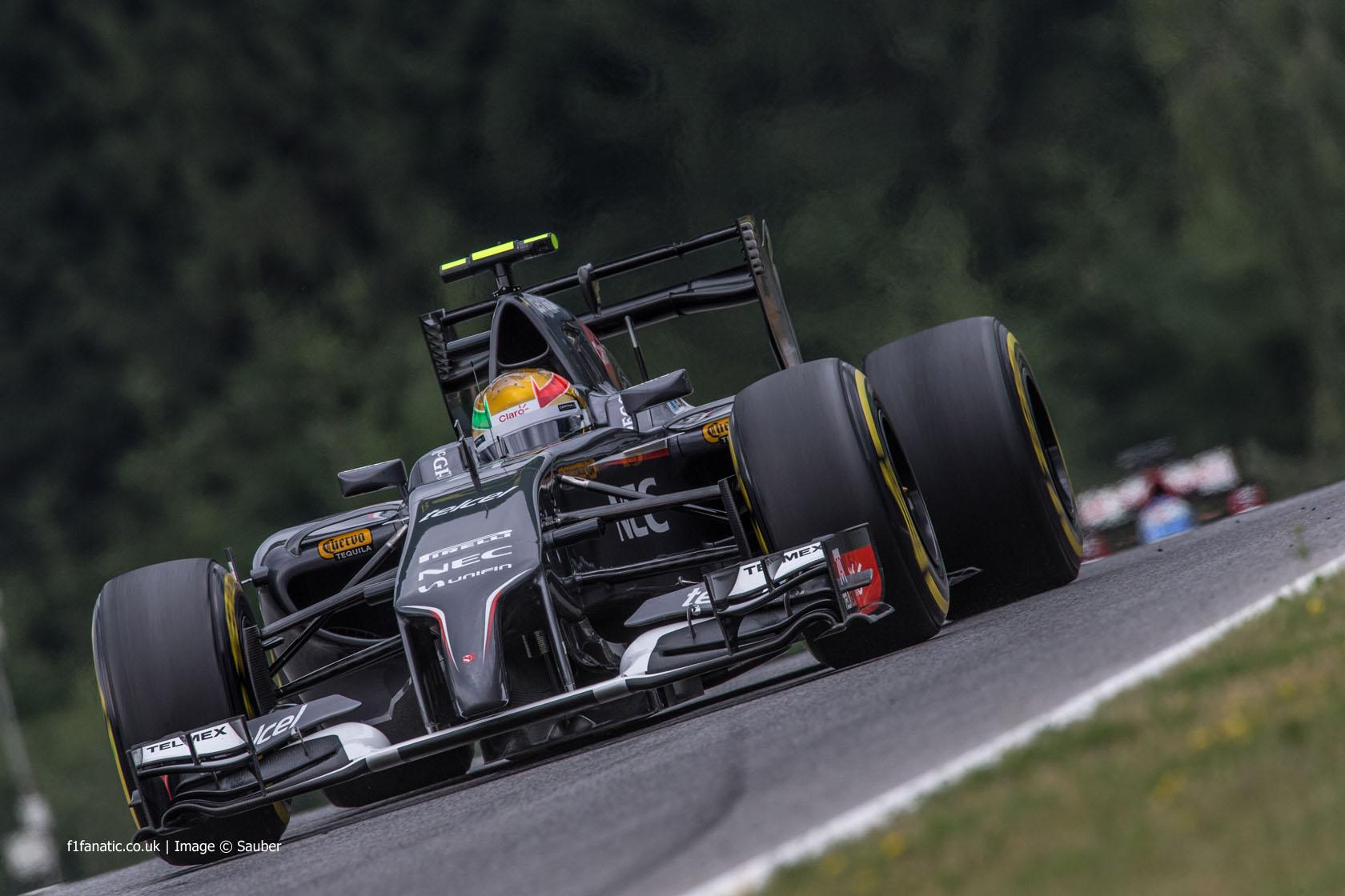 Esteban Gutierrez, Sauber, Red Bull Ring, 2014
