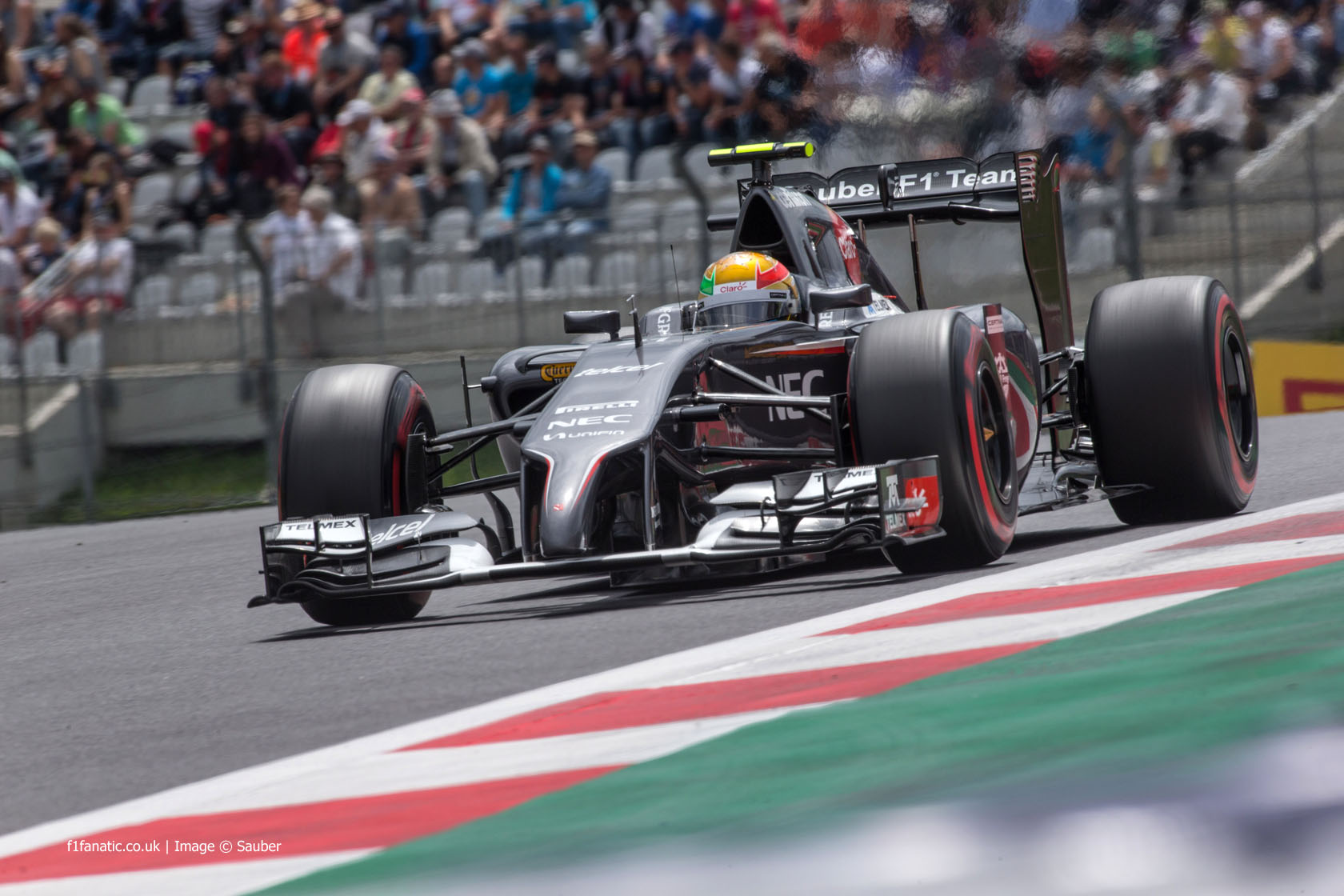 Esteban Gutierrez, Sauber, Red Bull Ring, 2014