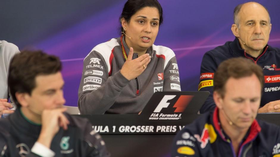 Monisha Kaltenborn, Sauber, Red Bull Ring, 2014