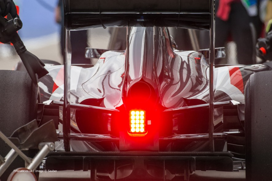Sauber, Red Bull Ring, 2014