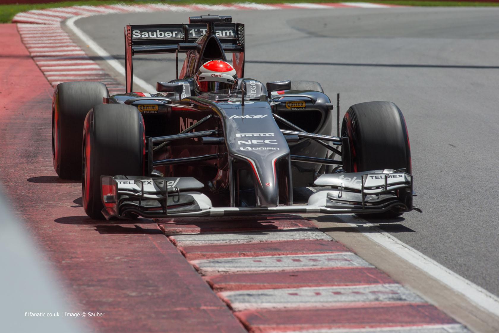 Adrian Sutil, Sauber, Circuit Gilles Villeneuve, 2014