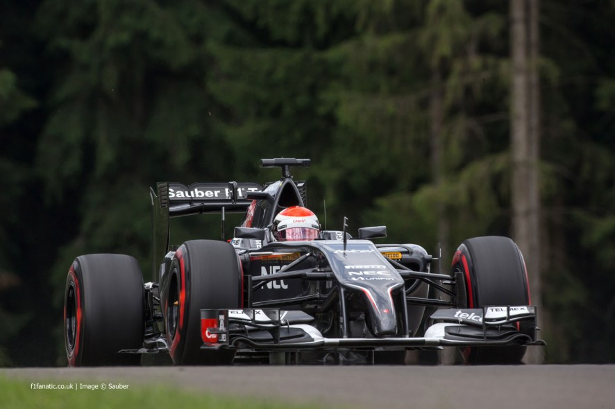 Adrian Sutil, Sauber, Red Bull Ring, 2014