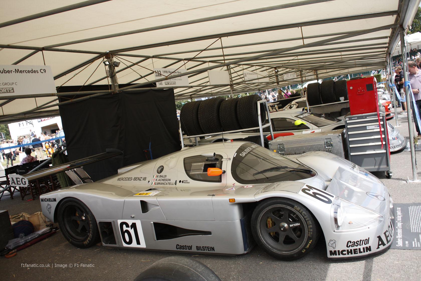 Sauber Mercedes C9, Goodwood Festival of Speed, 2014