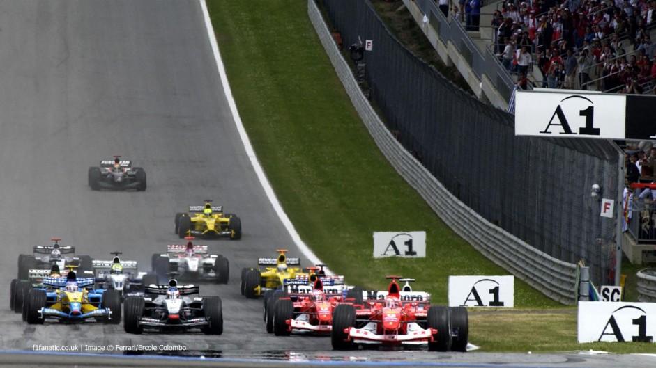 Start, A1-Ring, 2003