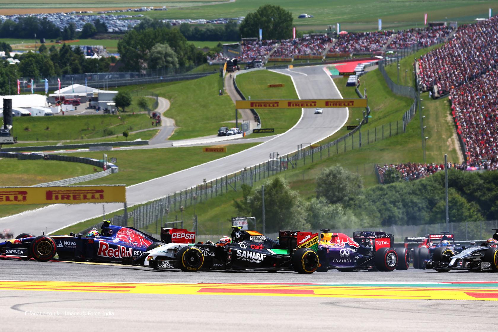 Start, Red Bull Ring, 2014
