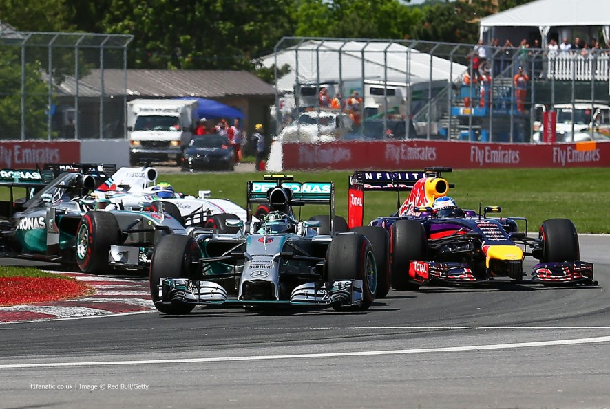 Start, Red Bull, Circuit Gilles Villeneuve, 2014