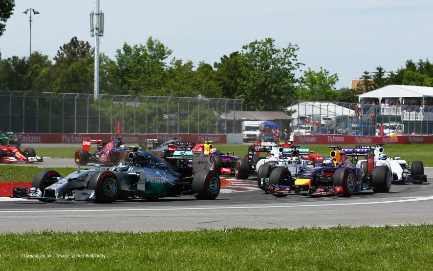 Start, Red Bull, Circuit Gilles Villeneuve, 2014