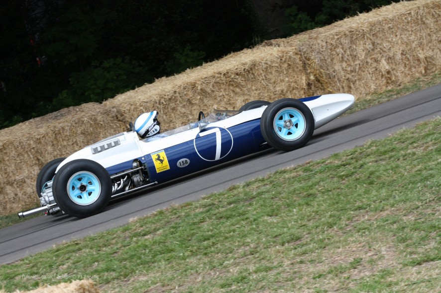 John Surtees, Ferrari 158, Goodwood Festival of Speed, 2014