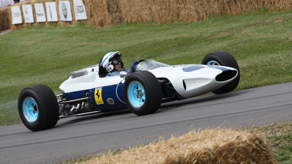 John Surtees' F1 cars and bikes at the 2014 Goodwood Festival of Speed
