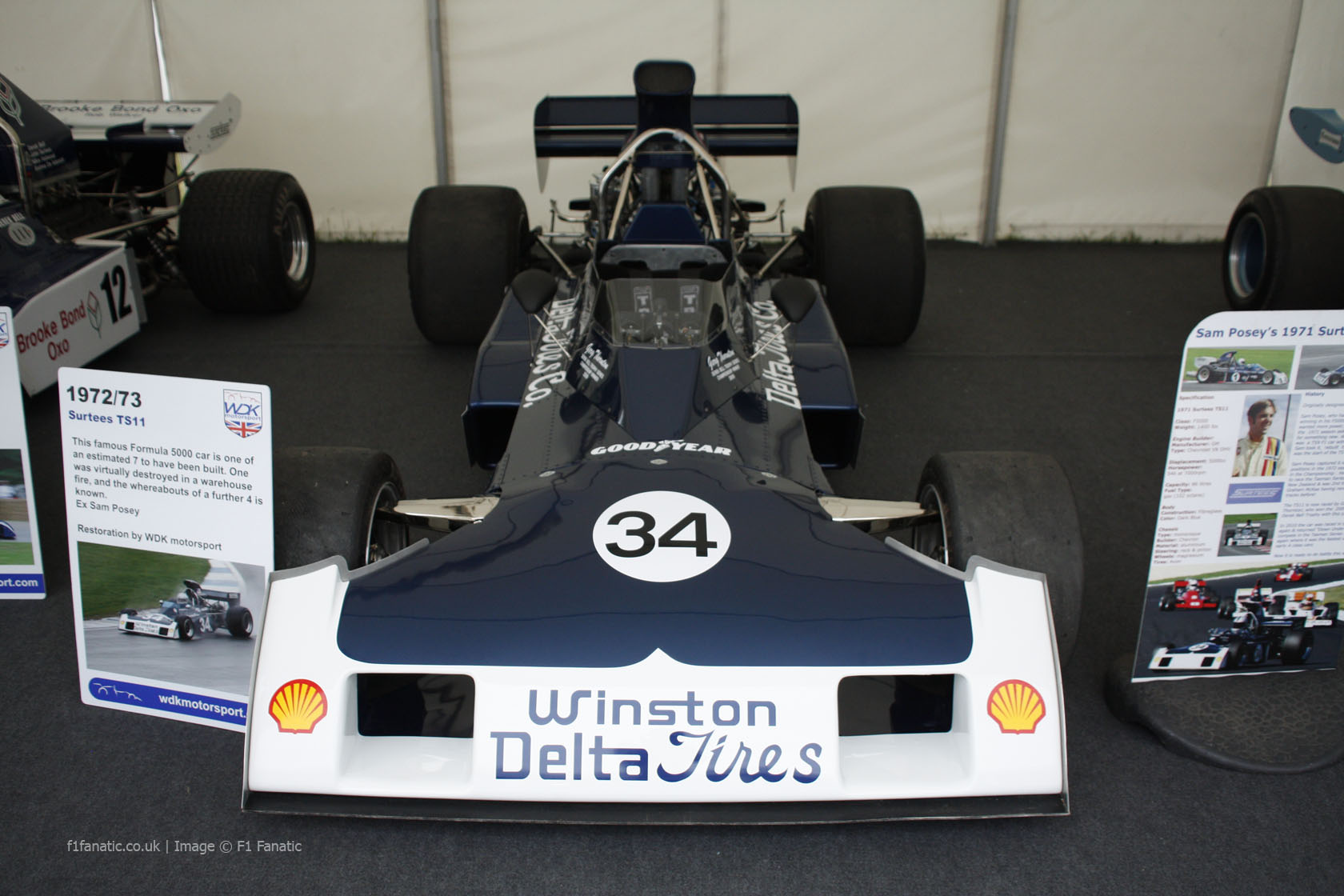 Surtees TS11 F5000, Goodwood Festival of Speed, 2014