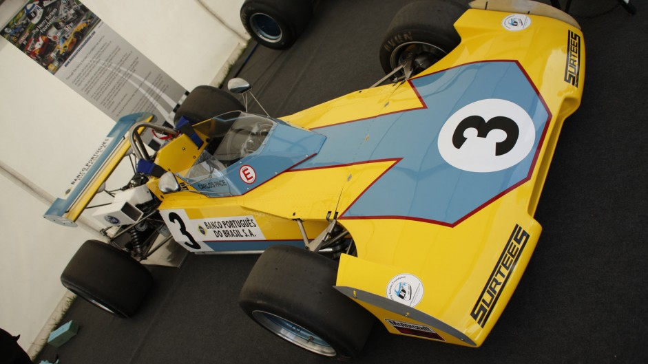 Surtees TS15 F2, Goodwood Festival of Speed, 2014