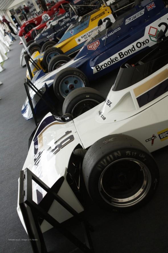 Surtees TS19, Goodwood Festival of Speed, 2014