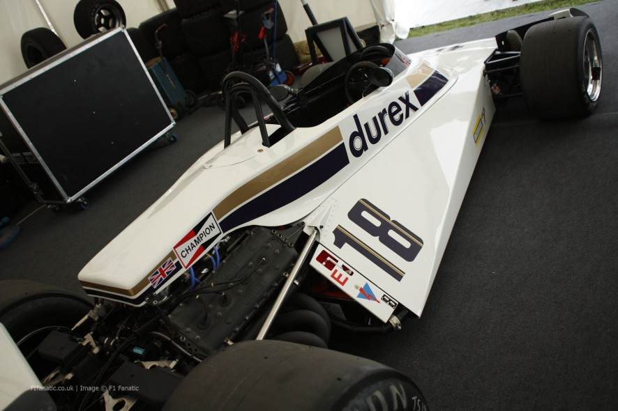 Surtees TS19, Goodwood Festival of Speed, 2014