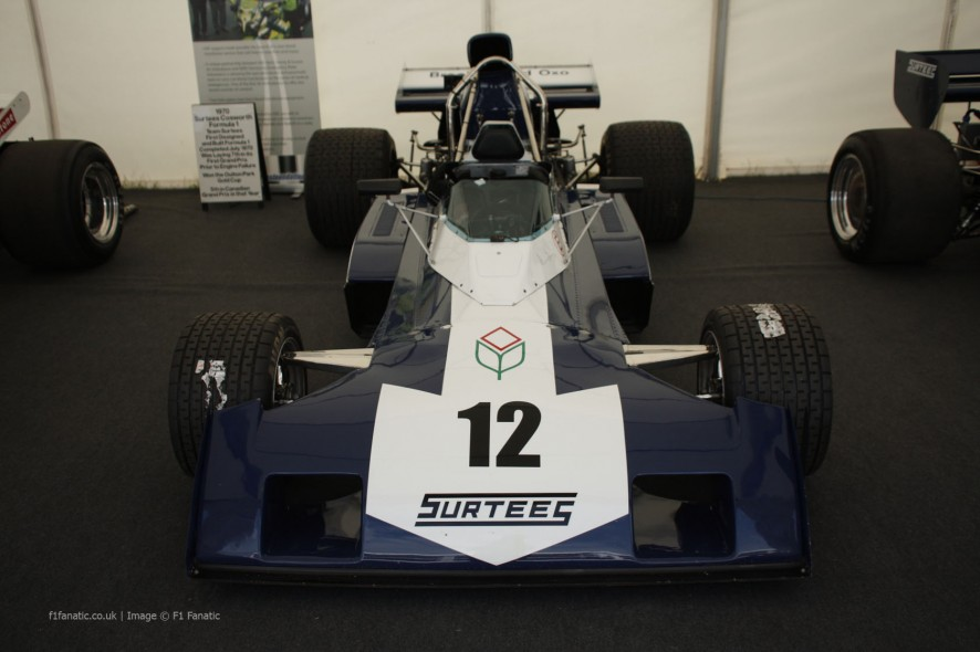 Surtees TS9B, Goodwood Festival of Speed, 2014