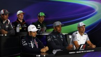 Adrian Sutil, Nico Hulkenberg, Kamui Kobayashi, Felipe Massa, Lewis Hamilton, Jenson Button, Montreal, 2014