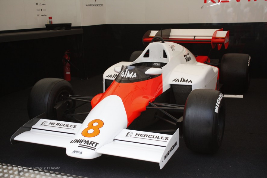McLaren MP4-4, Goodwood Festival of Speed, 2014