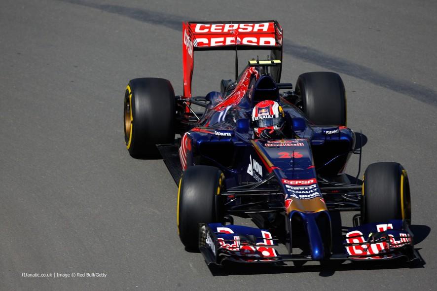 Daniil Kvyat, Toro Rosso, Circuit Gilles Villeneuve, 2014