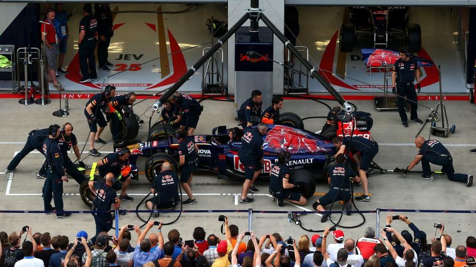 Toro Rosso, Red Bull Ring, 2014