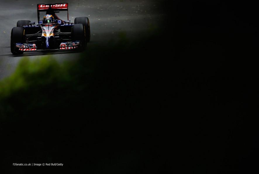 Jean-Eric Vergne, Toro Rosso, Circuit Gilles Villeneuve, 2014
