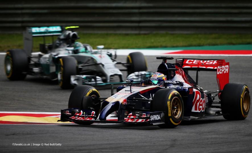 Jean-Eric Vergne, Toro Rosso, Red Bull Ring, 2014
